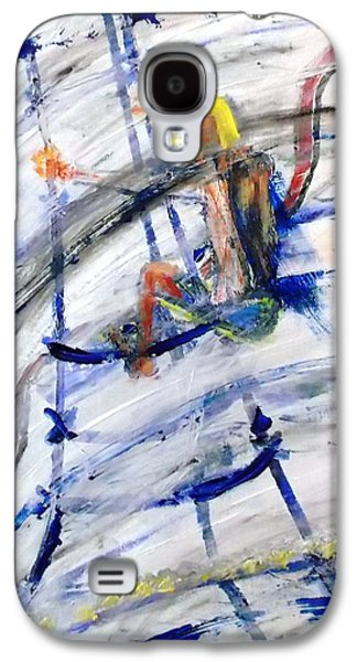 byles Paintings Galaxy S4 Cases - Riggin Galaxy S4 Case by Leslie Byrne
