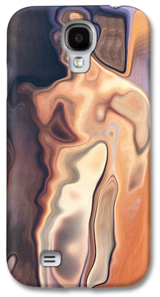 Abstract Digital Digital Galaxy S4 Cases - The man Bertolt Brecht Galaxy S4 Case by Joaquin Abella