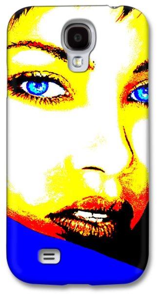 Rihanna Galaxy S4 Cases - Rihanna Pop Galaxy S4 Case by Victor Minca