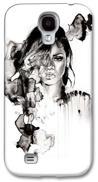 Rihanna Galaxy S4 Cases - Rihanna Stay Galaxy S4 Case by Molly Picklesimer
