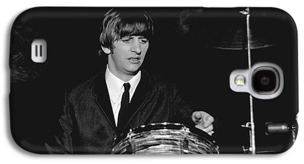 Beatles Galaxy S4 Cases - Ringo Starr, Beatles Concert, 1964 Galaxy S4 Case by Larry Mulvehill