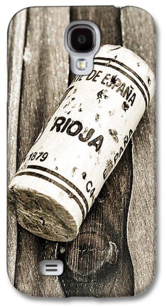 Vino Photographs Galaxy S4 Cases - Rioja Wine Cork Galaxy S4 Case by Frank Tschakert