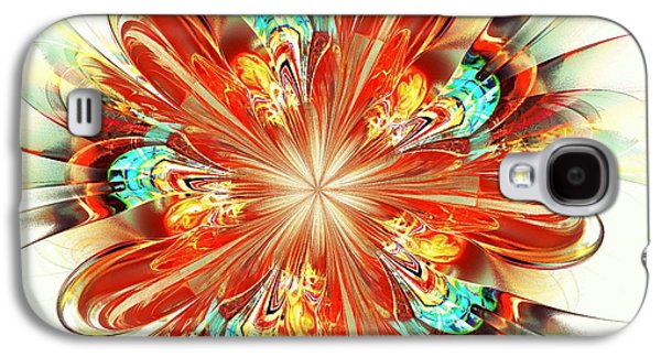 Abstracts Galaxy S4 Cases - Riot Galaxy S4 Case by Anastasiya Malakhova