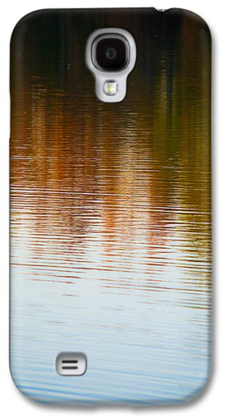 Sunset Abstract Galaxy S4 Cases - Ripples in Autumn Galaxy S4 Case by Shelby  Young