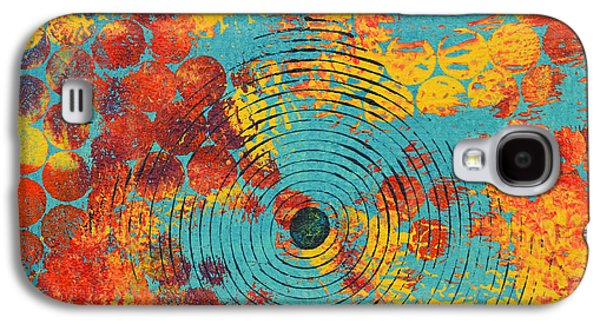 Abstract Movement Mixed Media Galaxy S4 Cases - Ripples Galaxy S4 Case by Moon Stumpp