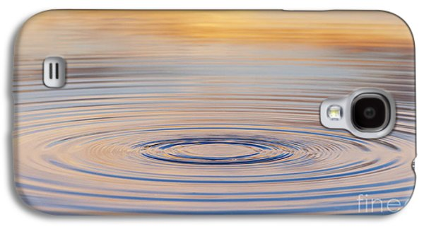 Reflecting Water Galaxy S4 Cases - Ripples on a Still Pond Galaxy S4 Case by Tim Gainey