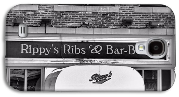 Tennessee Landmark Galaxy S4 Cases - Rippys Ribs And Bar BQ Galaxy S4 Case by Dan Sproul