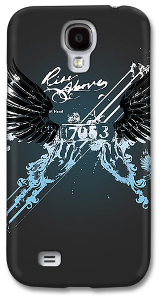 Personality Galaxy S4 Cases - Rise Above Galaxy S4 Case by Pop Culture Prophet