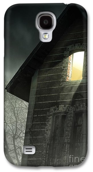Ghostly Galaxy S4 Cases - Rising Fog Galaxy S4 Case by Carlos Caetano