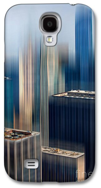 Glitters Galaxy S4 Cases - Rising Metropolis Galaxy S4 Case by Az Jackson