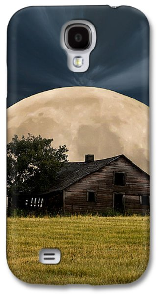 Recently Sold -  - Creepy Galaxy S4 Cases - Rising Moon Galaxy S4 Case by Xenia Headley