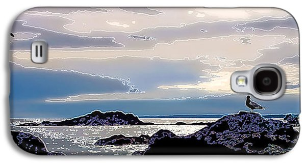 Coastal Maine Galaxy S4 Cases - Rising Tide Galaxy S4 Case by Bill Caldwell -        ABeautifulSky Photography