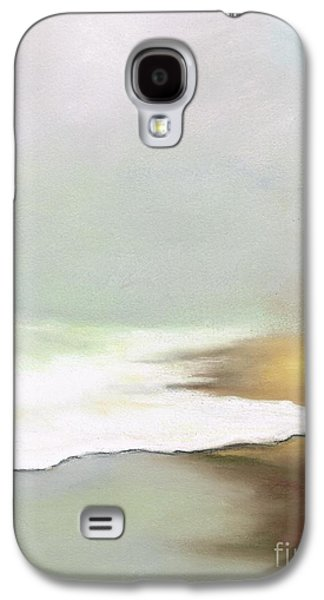 Beach Landscape Pastels Galaxy S4 Cases - Rising Tides Galaxy S4 Case by Frances Marino