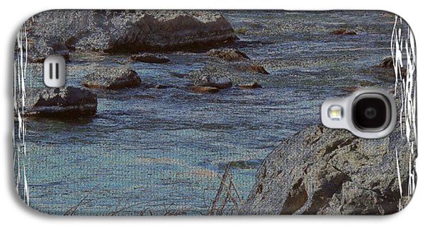 Matting Galaxy S4 Cases - River Flows Galaxy S4 Case by Bobbee Rickard