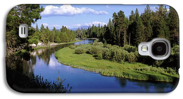 River In A Forest, Don Mcgregor Galaxy S4 Case by Panoramic Images