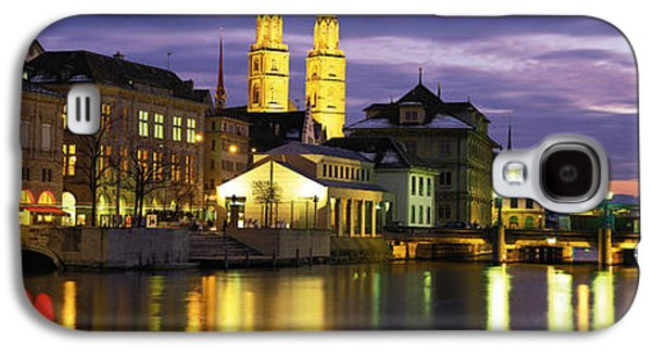 River Limmat Zurich Switzerland Galaxy S4 Case by Panoramic Images