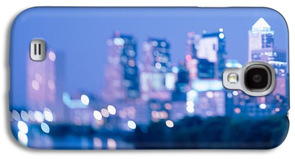 Schuylkill Galaxy S4 Cases - River Passing Through A City Galaxy S4 Case by Panoramic Images