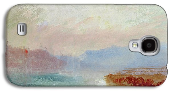 Misty Prints Galaxy S4 Cases - River scene Galaxy S4 Case by Joseph Mallord William Turner