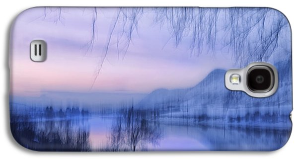 River View Galaxy S4 Cases - River Sunset Galaxy S4 Case by Theresa Tahara