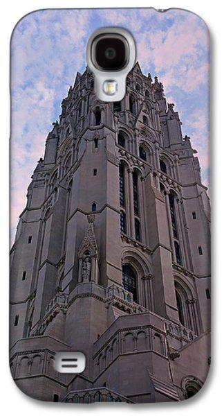 Spiritualism Galaxy S4 Cases - Riverside Church Galaxy S4 Case by Stephen Stookey