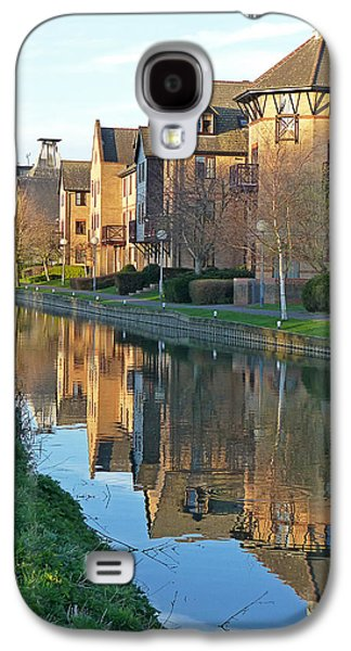 Reflections In River Galaxy S4 Cases - Riverside Home Reflections Vertical Galaxy S4 Case by Gill Billington