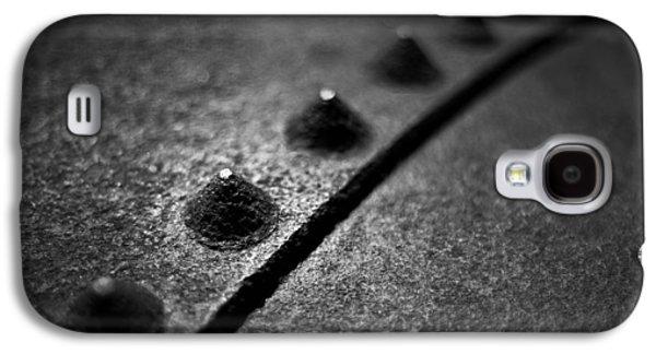 Diagonal Galaxy S4 Cases - Rivets 1 Galaxy S4 Case by Scott Norris
