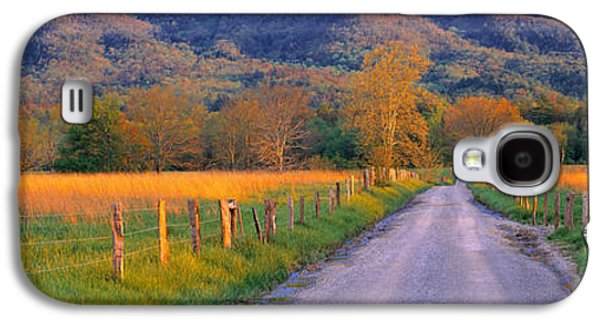 Tn Galaxy S4 Cases - Road At Sundown, Cades Cove, Great Galaxy S4 Case by Panoramic Images
