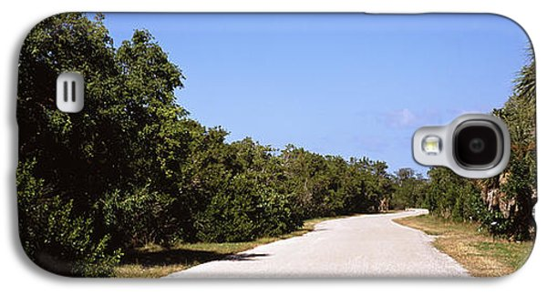 Wildlife Refuge. Galaxy S4 Cases - Road Passing Through Ding Darling Galaxy S4 Case by Panoramic Images