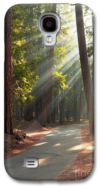 Recently Sold -  - Landscapes Photographs Galaxy S4 Cases - Road through Mariposa Grove Galaxy S4 Case by Jane Rix