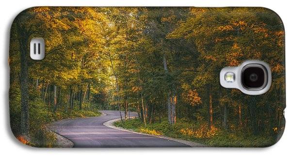 Road To Cave Point Galaxy S4 Case by Scott Norris
