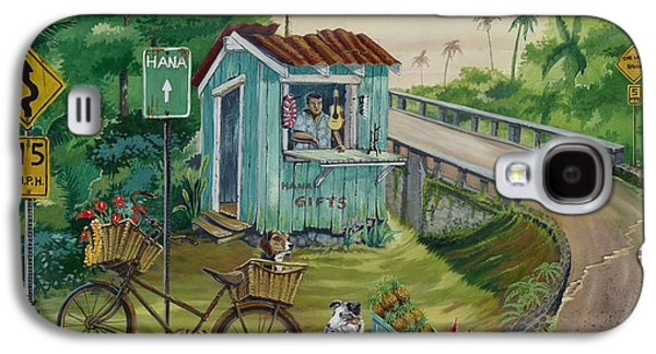 Ukelele Galaxy S4 Cases - Road to Hana Galaxy S4 Case by Bill Shelton