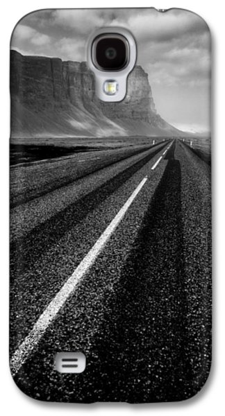 Road Travel Galaxy S4 Cases - Road to Nowhere Galaxy S4 Case by Dave Bowman