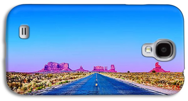 Featured Art Galaxy S4 Cases - Long Road To Ruin Galaxy S4 Case by Az Jackson