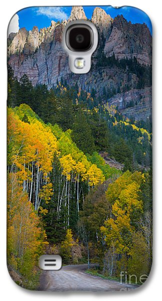 North America Galaxy S4 Cases - Road to Silver Mountain Galaxy S4 Case by Inge Johnsson