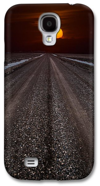 Sun Photographs Galaxy S4 Cases - Road to the Sun Galaxy S4 Case by Aaron J Groen