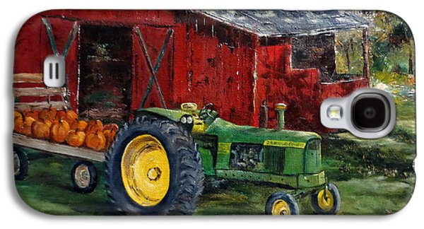 Machinery Galaxy S4 Cases - Rob Smiths Tractor Galaxy S4 Case by Lee Piper