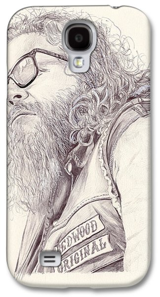 Kim Drawings Galaxy S4 Cases - Robert Bobby Munson Galaxy S4 Case by Kyle Willis
