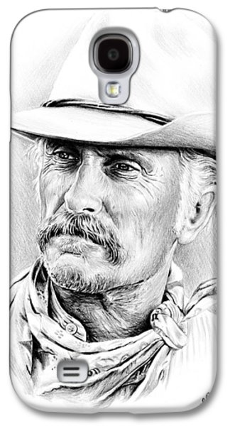 Icon Drawings Galaxy S4 Cases - Robert Duvall Galaxy S4 Case by Andrew Read