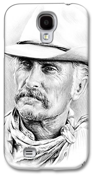 Power Drawings Galaxy S4 Cases - Robert Duvall Galaxy S4 Case by Andrew Read