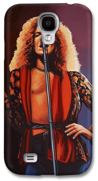 Robert Plant Of Led Zeppelin Galaxy S4 Case by Paul Meijering