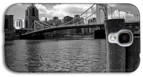 Roberto Clemente Galaxy S4 Cases - Roberto Clemente Bridge Pittsburgh Galaxy S4 Case by Amy Cicconi