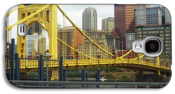 Roberto Clemente Galaxy S4 Cases - Roberto Clemente Bridge - Pittsburgh Galaxy S4 Case by Mountain Dreams