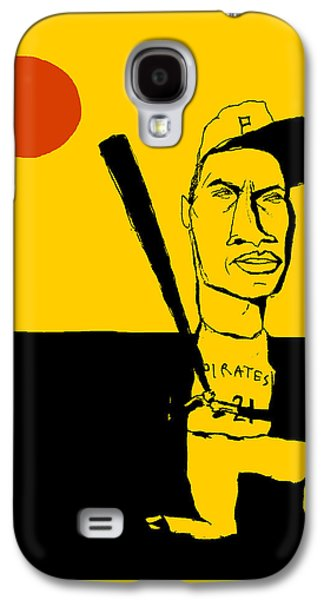 Roberto Clemente Pittsburgh Pirates Galaxy S4 Case by Jay Perkins
