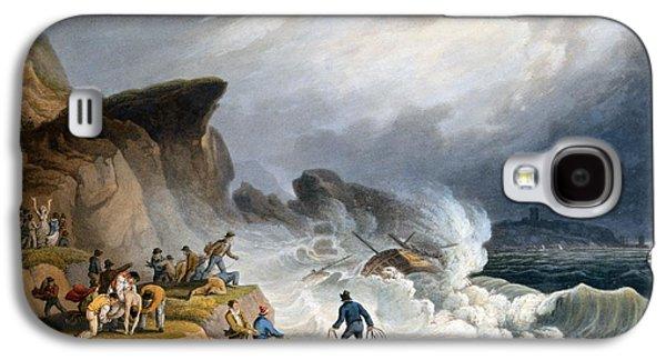 Robin Hoods Bay, Yorkshire, 1825 Galaxy S4 Case by Francis Nicholson