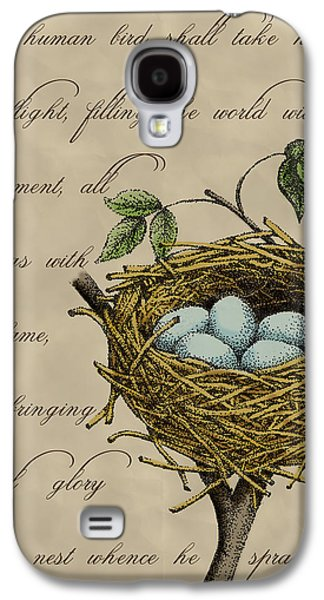 Robin's Nest Galaxy S4 Case by Christy Beckwith
