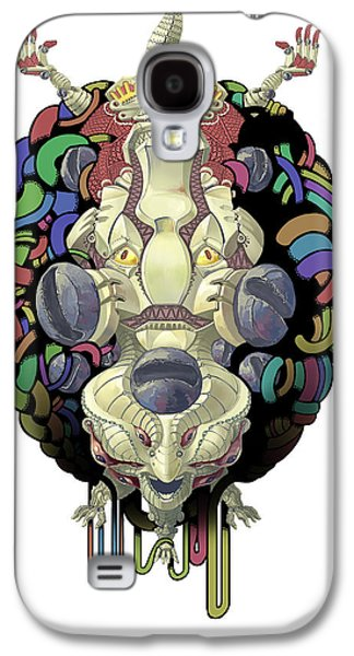 Science Fiction Galaxy S4 Cases - Robot God - Trinity 2.0 Galaxy S4 Case by Augustinas Raginskis