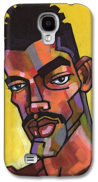 Mustache Galaxy S4 Cases - Rocco Galaxy S4 Case by Douglas Simonson