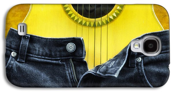 Jeans Galaxy S4 Cases - Rock and Roll Woman Galaxy S4 Case by Bill Cannon