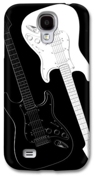 Rock And Roll Yin Yang Galaxy S4 Case by Mike McGlothlen