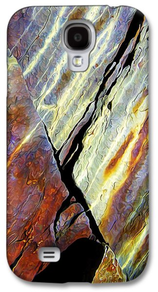 Abstract Nature Galaxy S4 Cases - Rock Art 16V Galaxy S4 Case by Bill Caldwell -        ABeautifulSky Photography